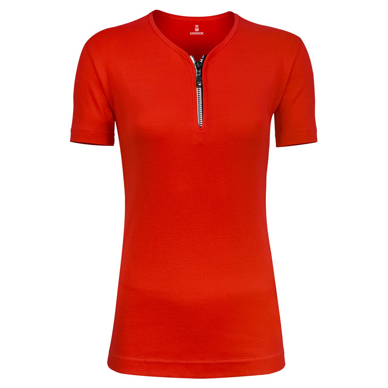 تی شرت زنانه زیپ دار ساروک مدل U کد 06