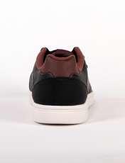 کفش راحتی مردانه 361 درجه مدل 571446631 رنگ قهوه ای تیره -  - 2