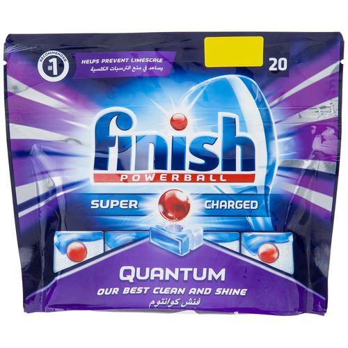 قرص ظرفشویی فینیش مدل Quantum بسته 20 عددی