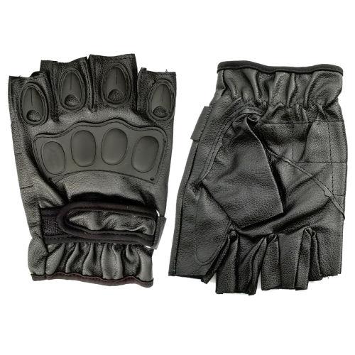 دستکش ورزشی تاکتیکال مدل نیم انگشتی