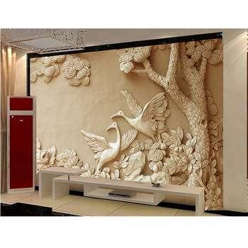 کاغذ دیواری سالسو طرح شادی پرنده هاA