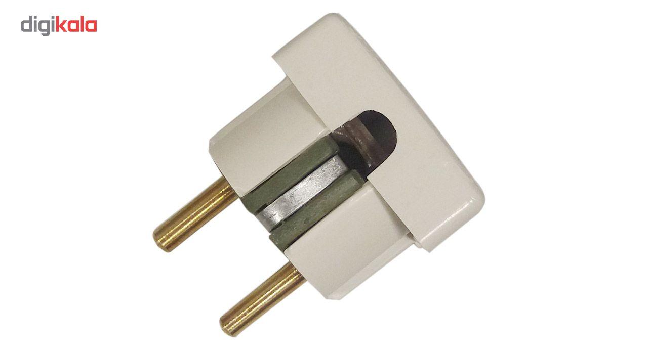 دوشاخه برق مهر تابان الکتریک مدل تخت main 1 1