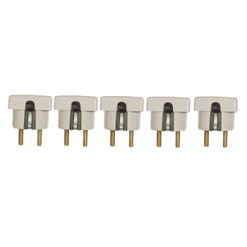دوشاخه برق مهر تابان الکتریک مدل تخت بسته 5 عددی