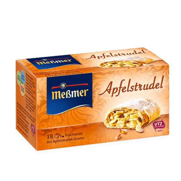 دمنوش آلمانی اشترودل سیب مسمر مدل Apfelstrudel بسته 18 عددی