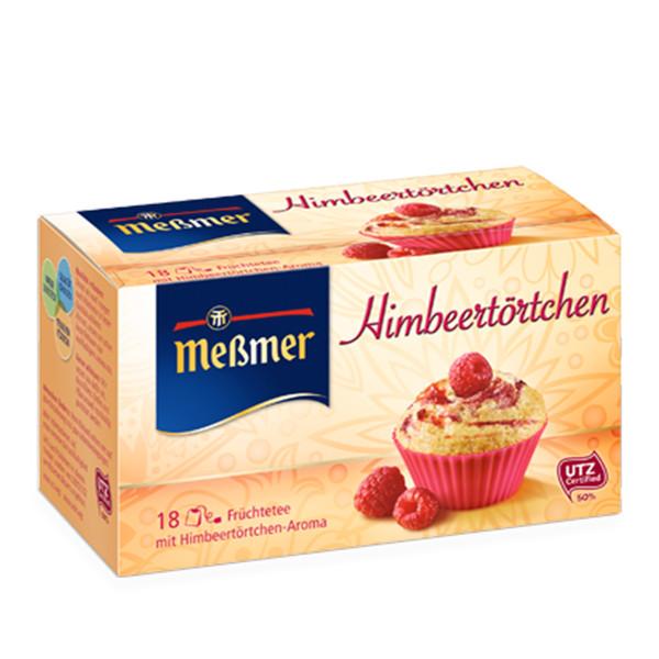 دمنوش آلمانی کیک توت توخالی مسمر مدل Himbeertoertchen بسته 18 عددی