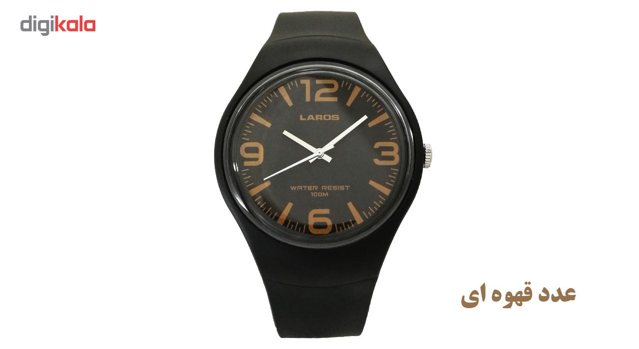 ساعت مچی عقربه ای مردانه لاروس مدل 1216-aq1066a