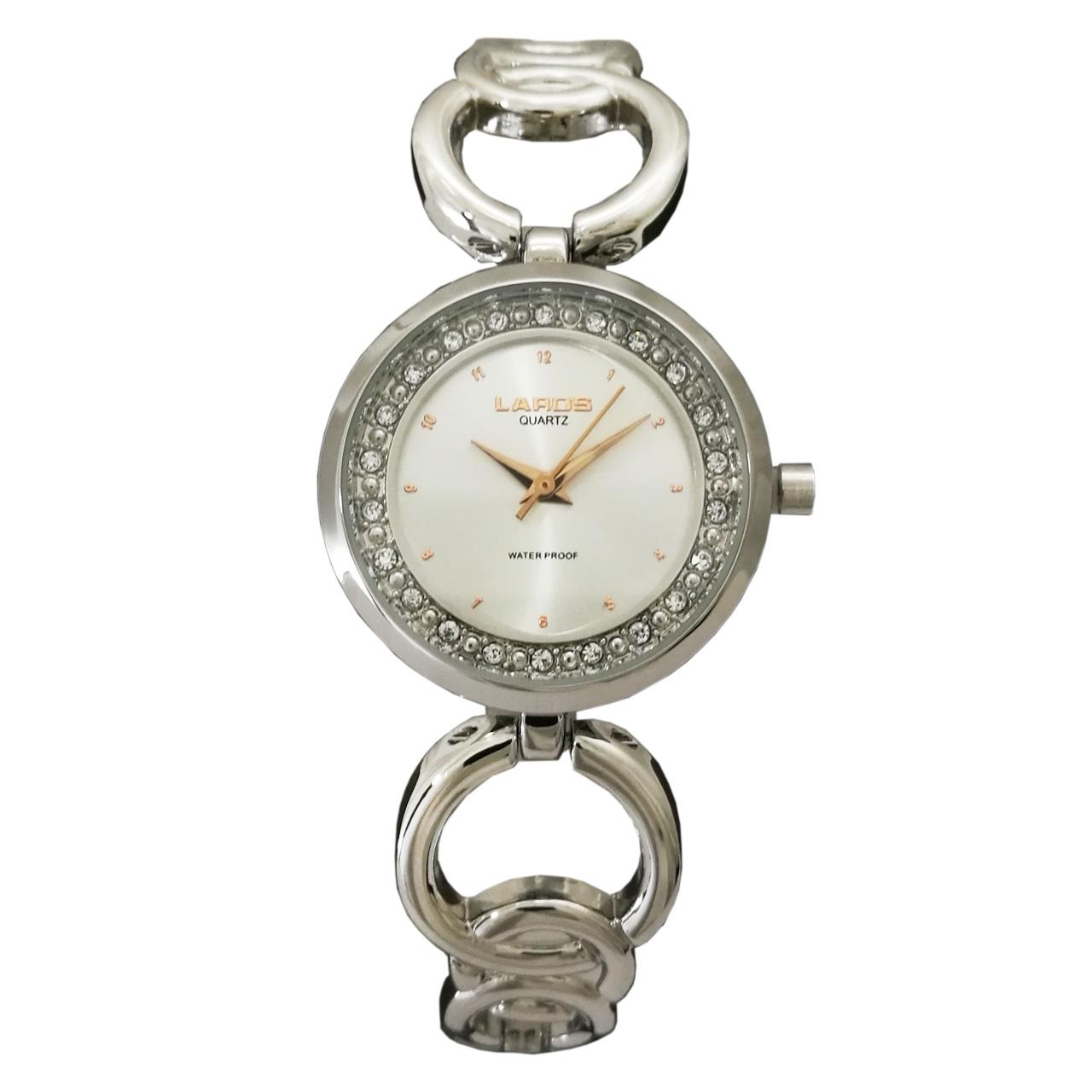 خرید ساعت مچی عقربه ای زنانه لاروس مدل 1117-80136