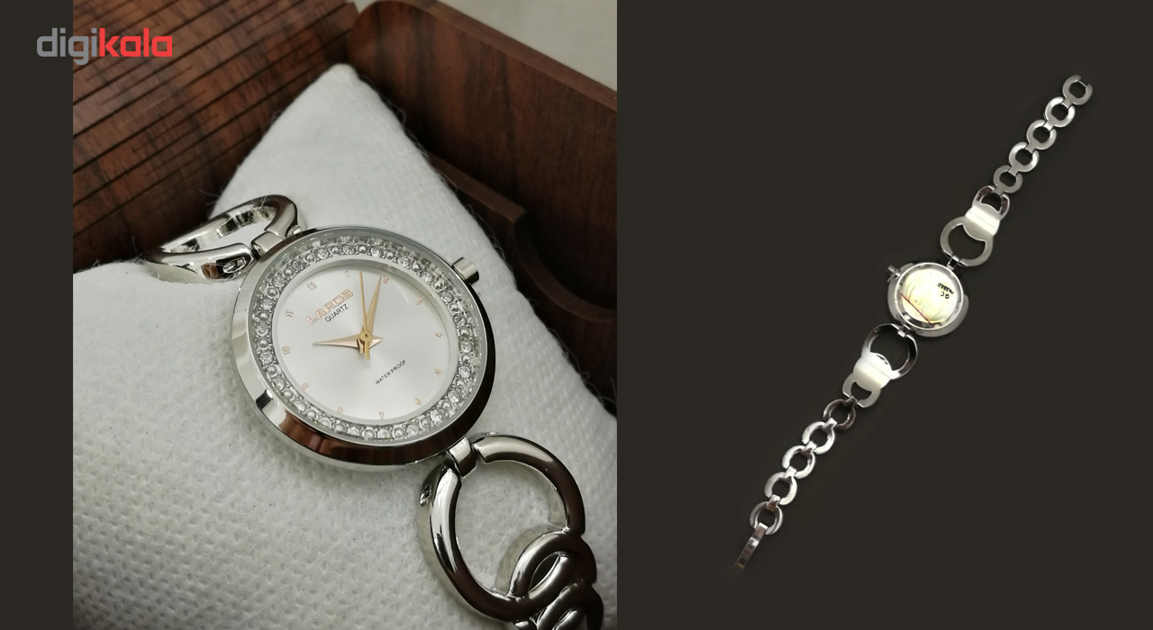 ساعت مچی عقربه ای زنانه لاروس مدل 1117-80136              ارزان