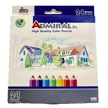 مداد رنگی 24 رنگ ادمیرال مدل 761c