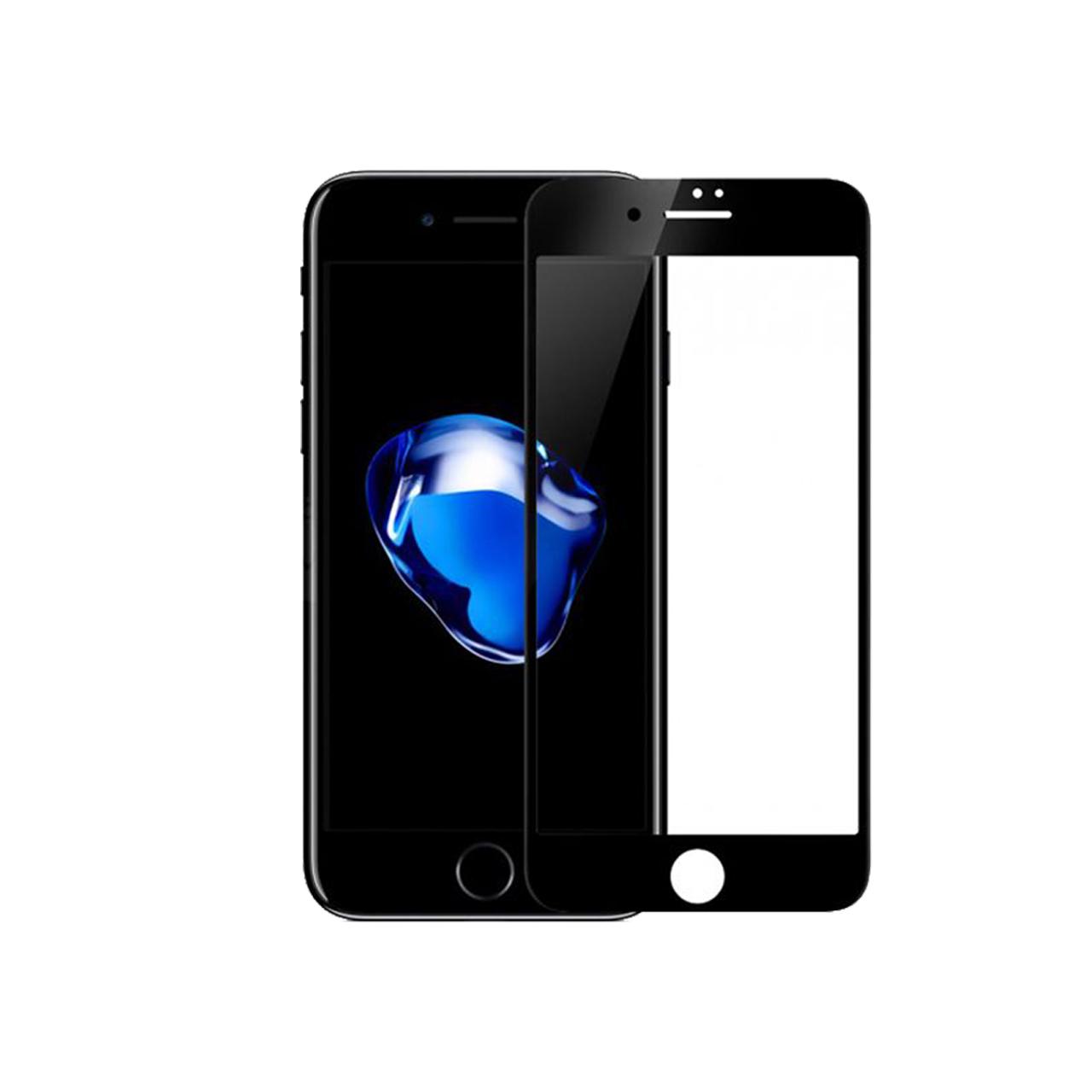محافظ صفحه نمایش شیشه ای مریت مدل Full Cover مناسب برای گوشی موبایل اپل iPhone 8