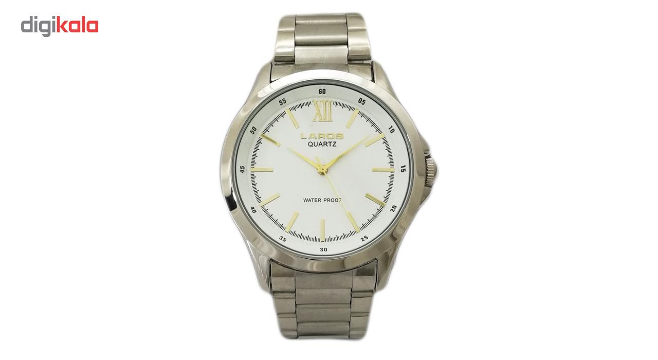 ساعت مچی عقربه ای مردانه لاروس مدل 0815-79749