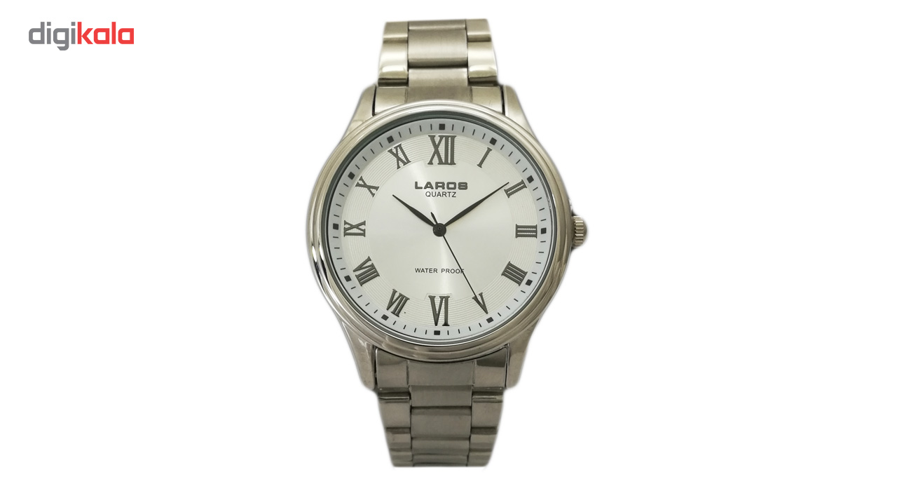 خرید ساعت مچی عقربه ای مردانه لاروس مدل 0817-80071