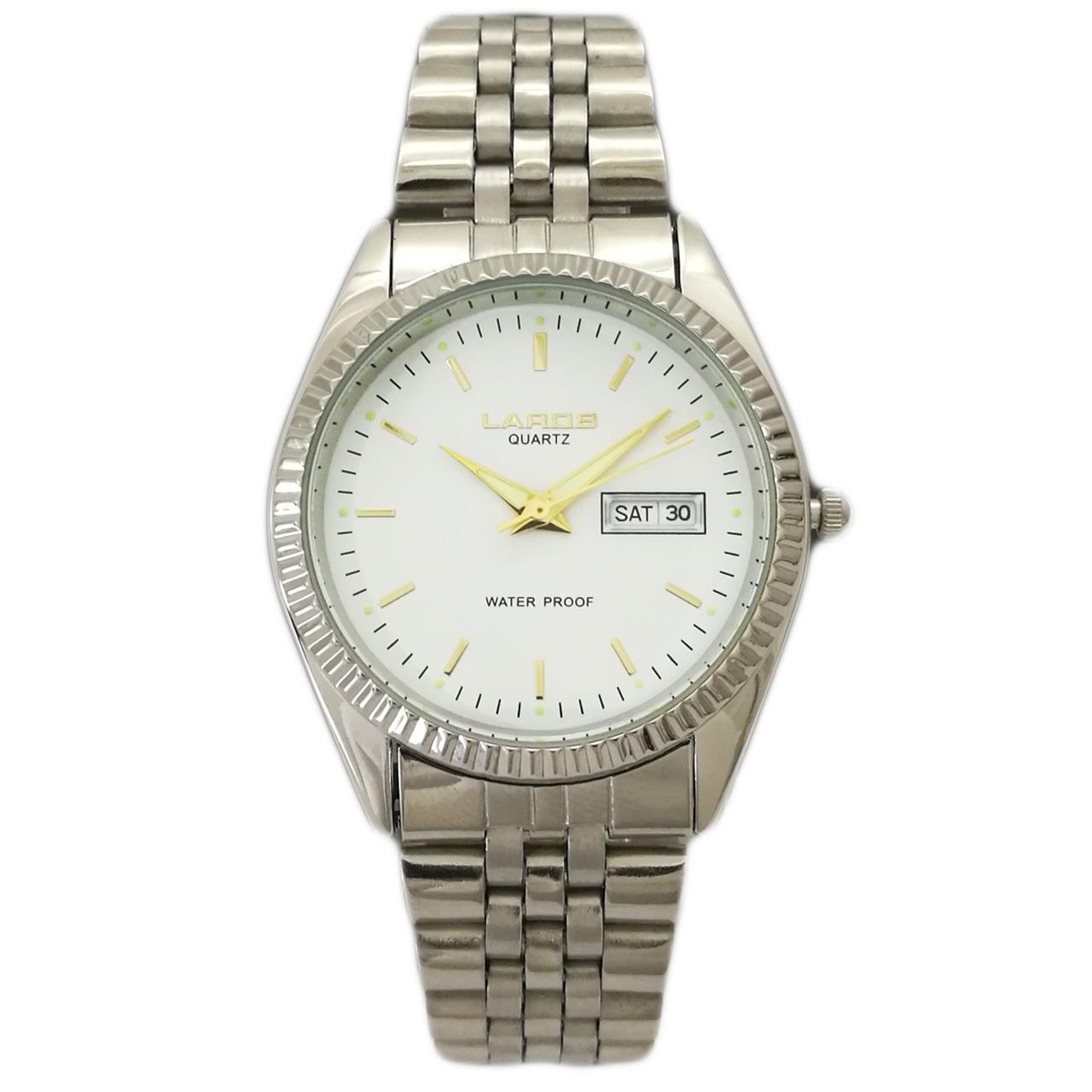 ساعت مچی عقربه ای مردانه لاروس مدل 1216-7443-dd