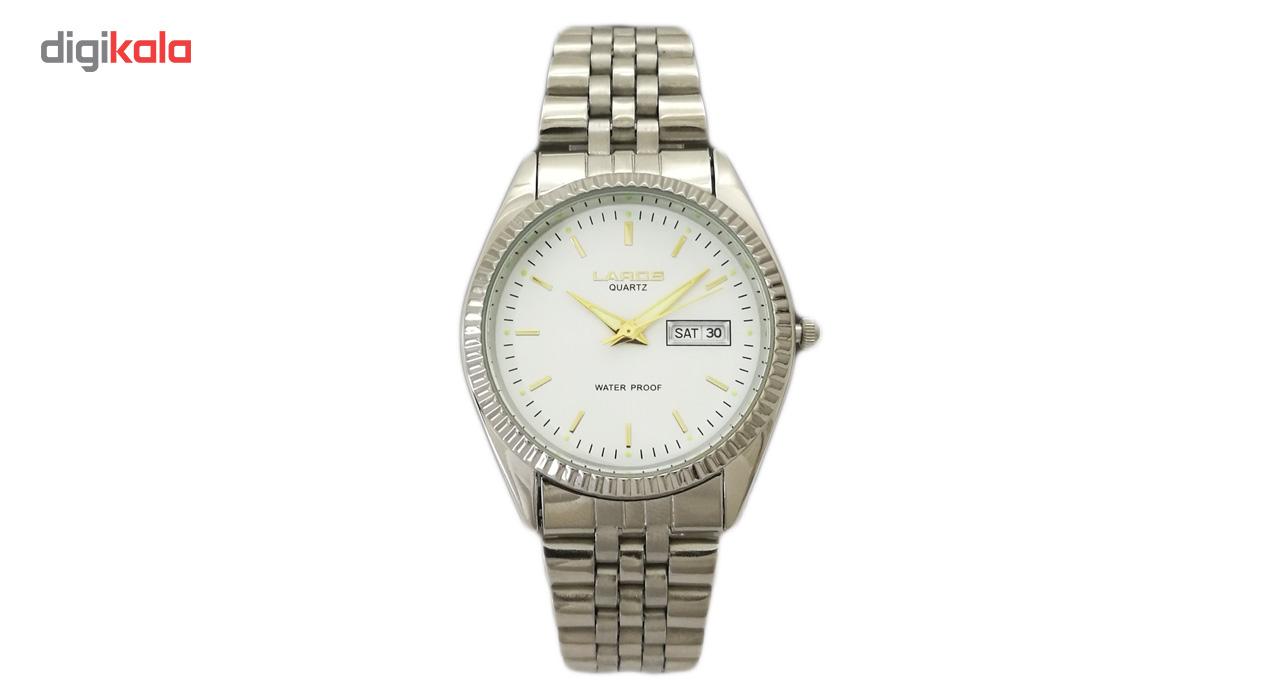 خرید ساعت مچی عقربه ای مردانه لاروس مدل 1216-7443-dd