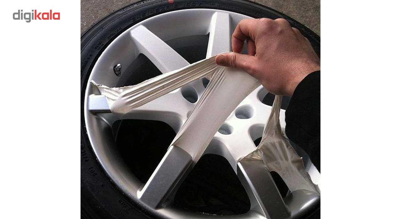 اسپری رنگ پلاستیک مشکی مات رینگ و بدنه خودرو 51 مدل Removable حجم 400 میلی لیتر main 1 10