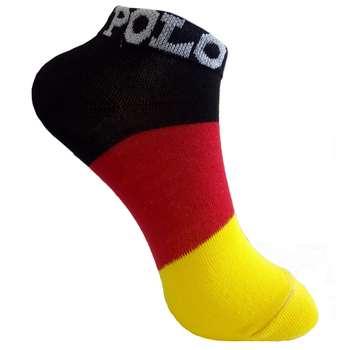 جوراب زنانه مدل پرچم آلمان