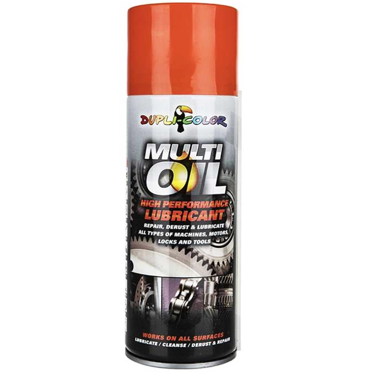 اسپری روان کننده و زنگ بر دوپلی کالر مدل Multi Oil              خرید و قیمت