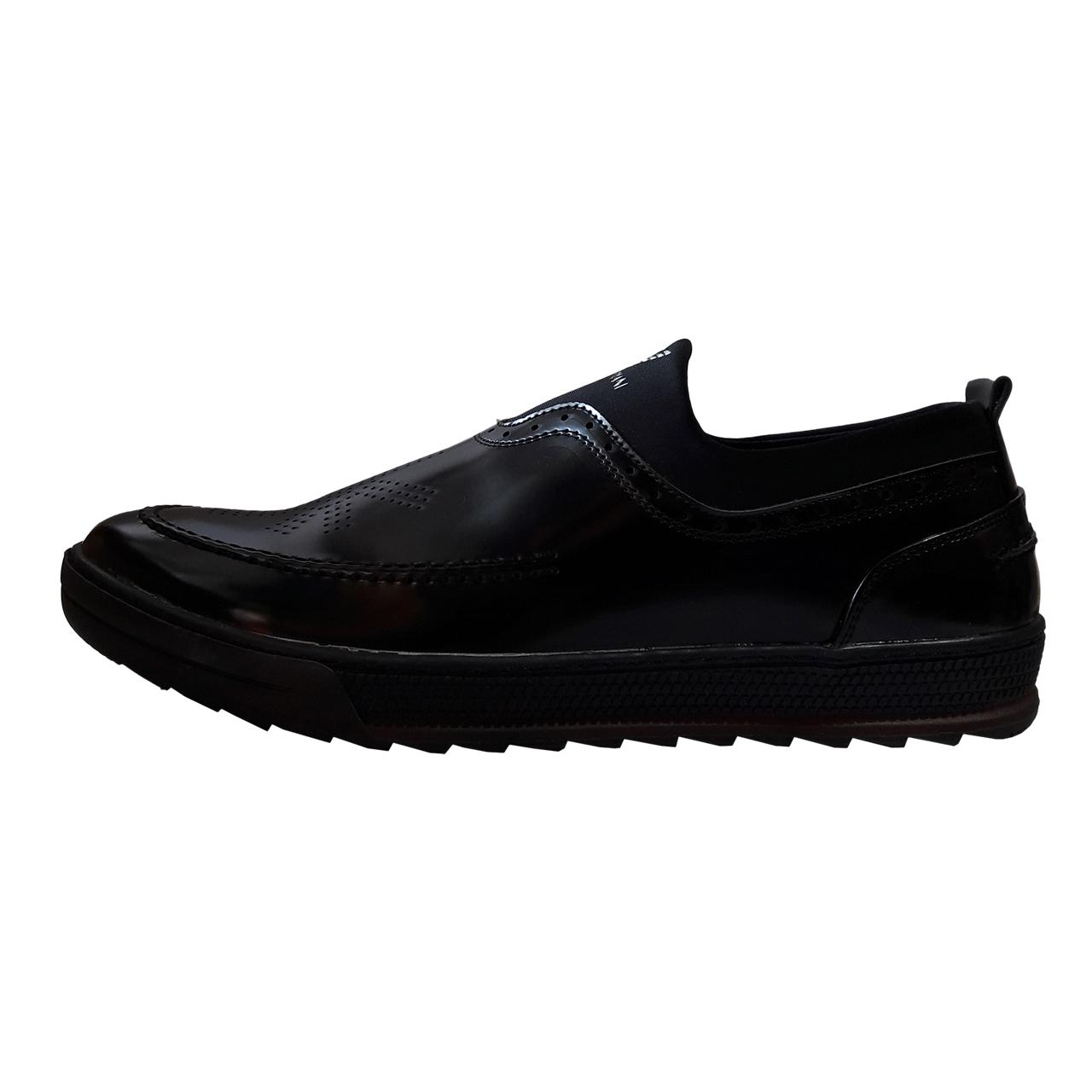 قیمت کفش مردانه لاماسو مدل Armani bl2