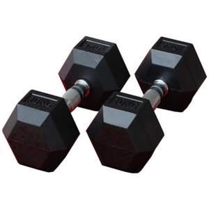 دمبل بدنسازی ششضلعی 10 کیلوگرمی - دو عددی
