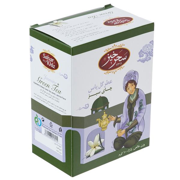 چای سبز سحرخیز مقدار 100 گرم