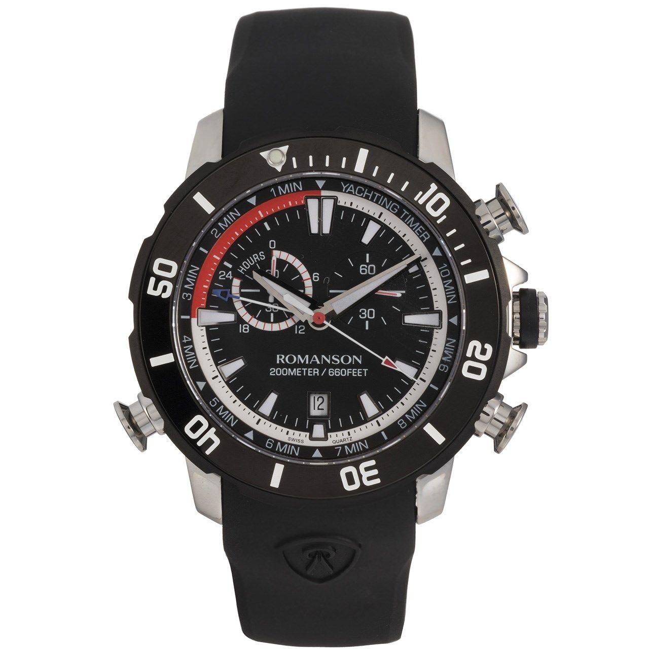 ساعت مچی عقربه ای مردانه رومانسون مدل AL0339HM1DA32W -  - 1