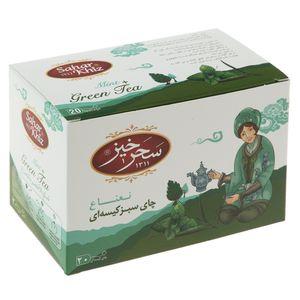 چای سبز کیسهای نعناع سحرخیز بسته 20 عددی