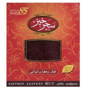 زعفران سرگل کادوئی سحرخیز مقدار 4.608 گرم