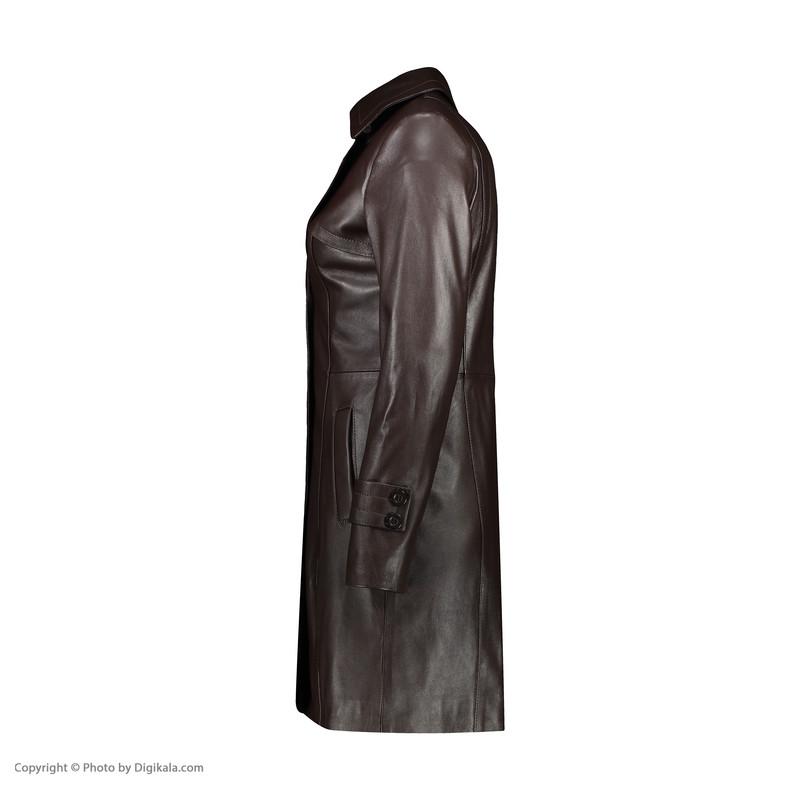 کت چرم زنانه چرم مشهد مدل B0457-091