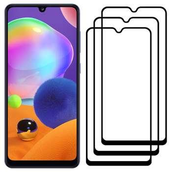 محافظ صفحه نمایش مدل FCG مناسب برای گوشی موبایل سامسونگ Galaxy A31 بسته سه عددی