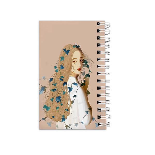 دفترچه یادداشت مدل to do list طرح دختر فانتزی کد 2701029