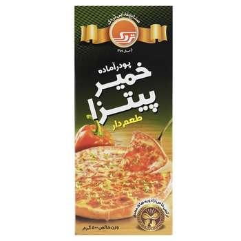پودر آماده خمیر پیتزا طعم دار تردک مقدار 500 گرم
