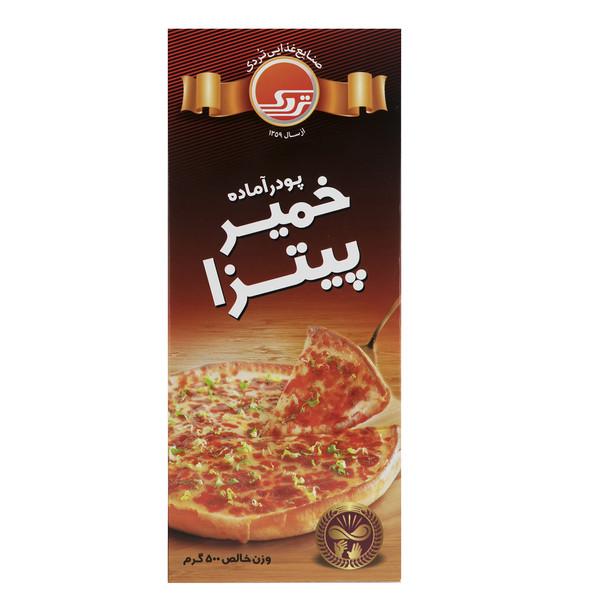 پودر آماده خمیر پیتزا تردک مقدار 500 گرم