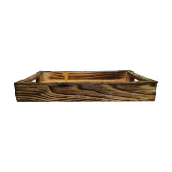 سینی چوبی آرونی مدل پلارت سایز کوچک
