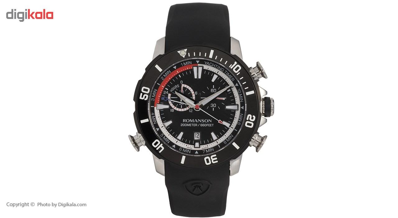 ساعت مچی عقربه ای مردانه رومانسون مدل AL0339HM1DA32W -  - 2