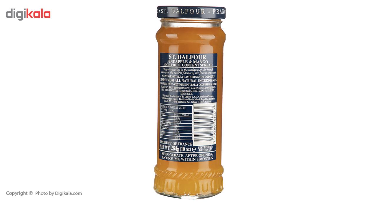 مربا آناناس و انبه سن دالفور مقدار 284 گرم