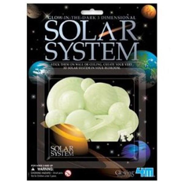 دکوراسیون خانه 4ام منظومه شمسی شب تاب سه بعدی کد 05423