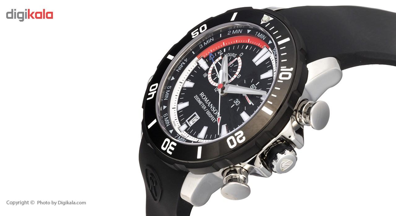 ساعت مچی عقربه ای مردانه رومانسون مدل AL0339HM1DA32W -  - 4