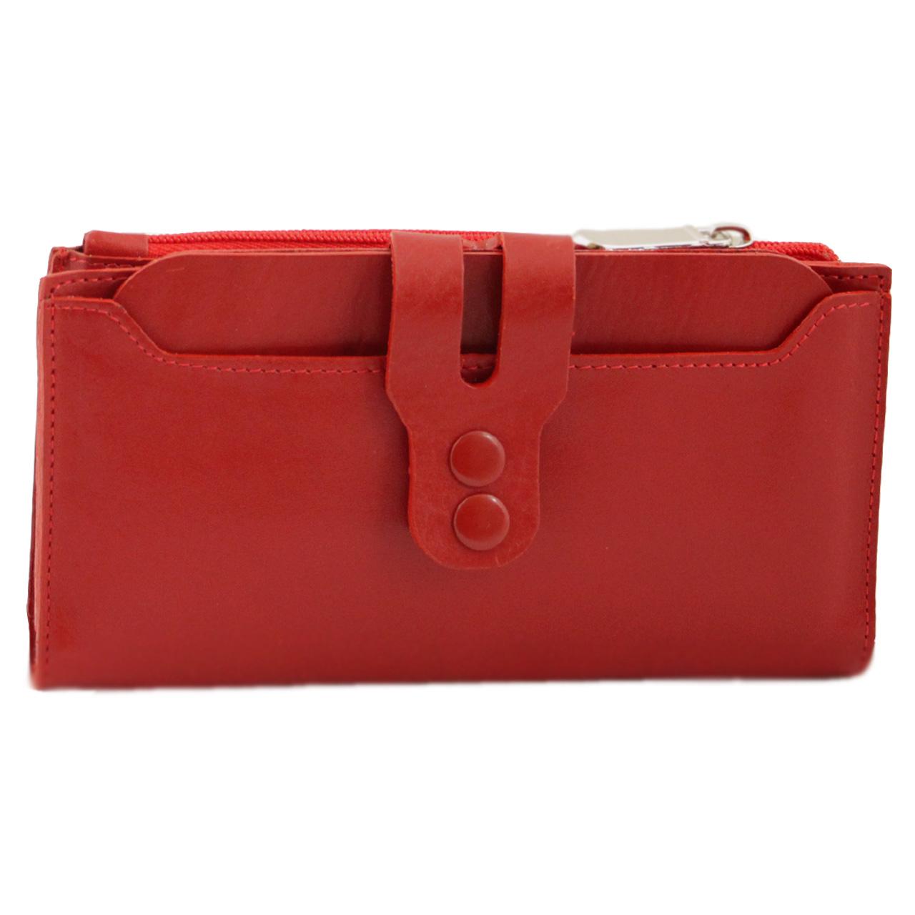 کیف پول چرم طبیعی  آدین چرم مدل DM47