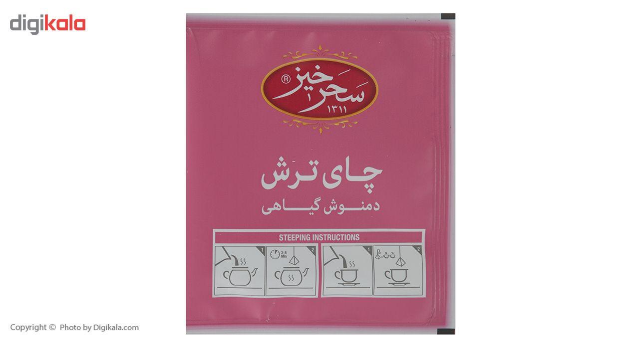 دمنوش کیسه ای هرمی چای ترش سحرحیز بسته 12 عددی main 1 4