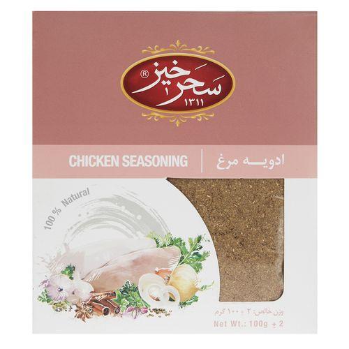 ادویه مرغ سحرخیز مقدار 100 گرم