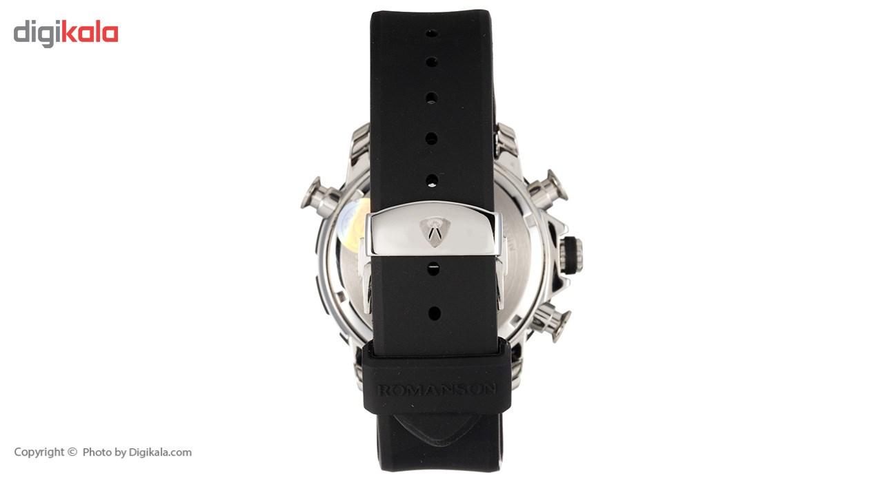 ساعت مچی عقربه ای مردانه رومانسون مدل AL0339HM1DA32W -  - 3