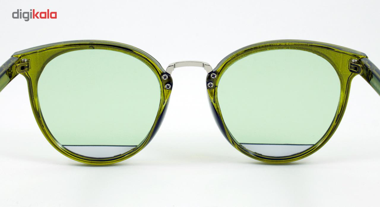 عینک آفتابی ویلی بولو مدل Green Half Eye Cat