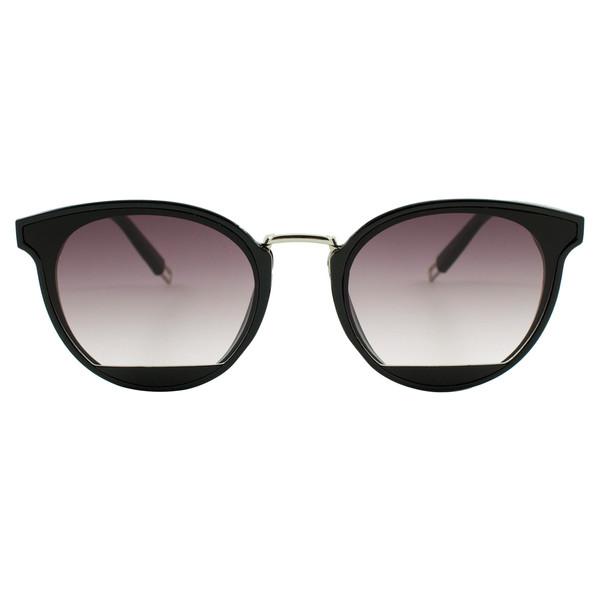 عینک آفتابی ویلی بولو مدل Black Half Eye Cat سایز 55 میلی متر