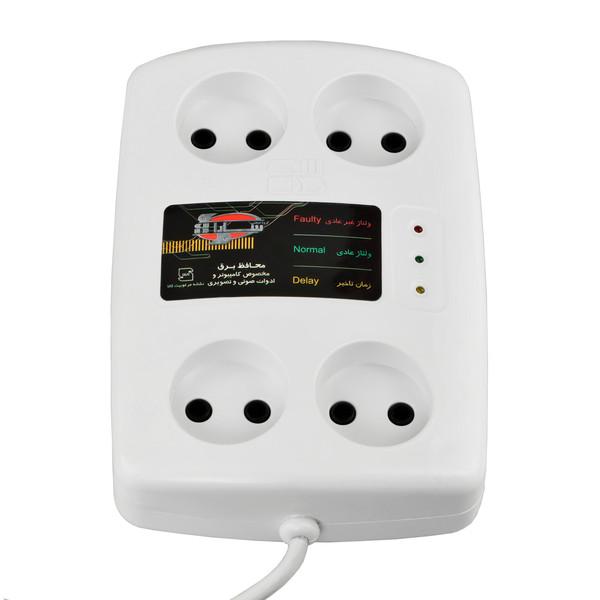 محافظ ولتاژ سارا مدل P152S مناسب برای تلویزیون و کامپیوتر به طول 1.6 متر