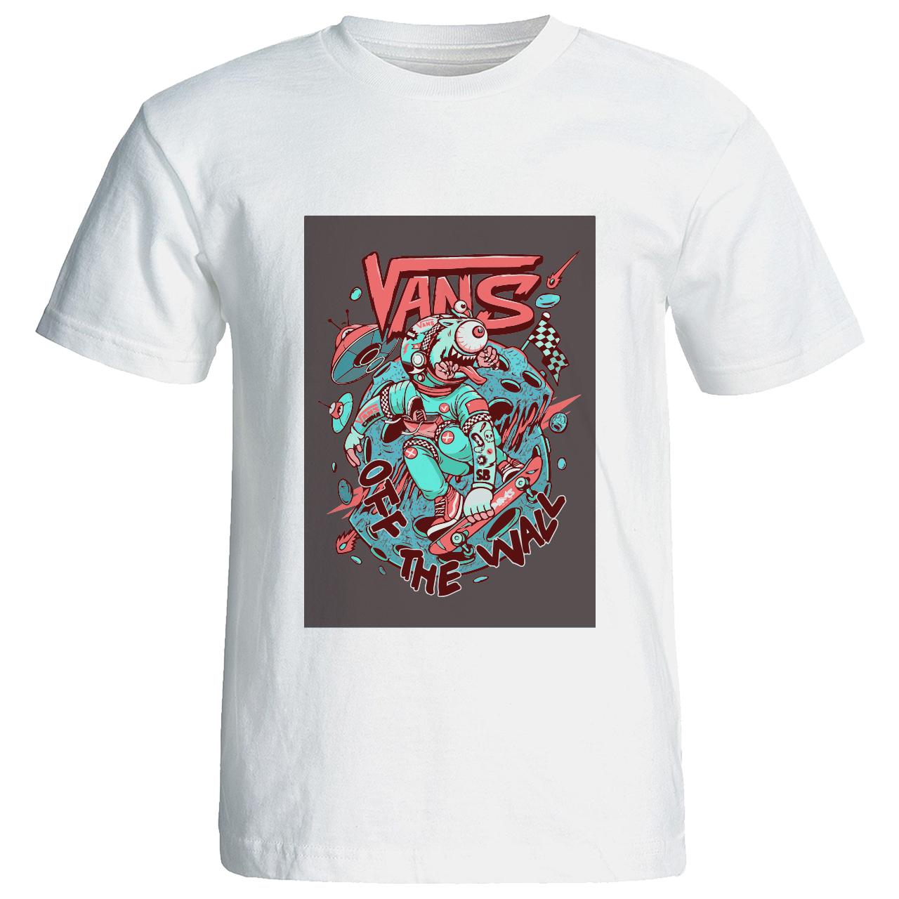 تی شرت گورانا طرح ونس فانتزی Vans of the wall 12231