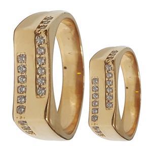 ست انگشتر زنانه و مردانه سلین کالاکد ce-111
