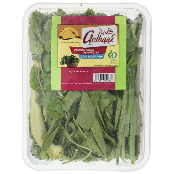 سبزی خوردن گل باز مقدار 200 گرم