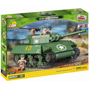 لگو کوبی مدل small army-m-10-wolverine
