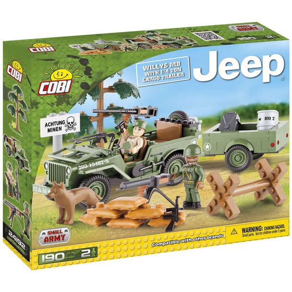 لگو کوبی مدل small army-jeep