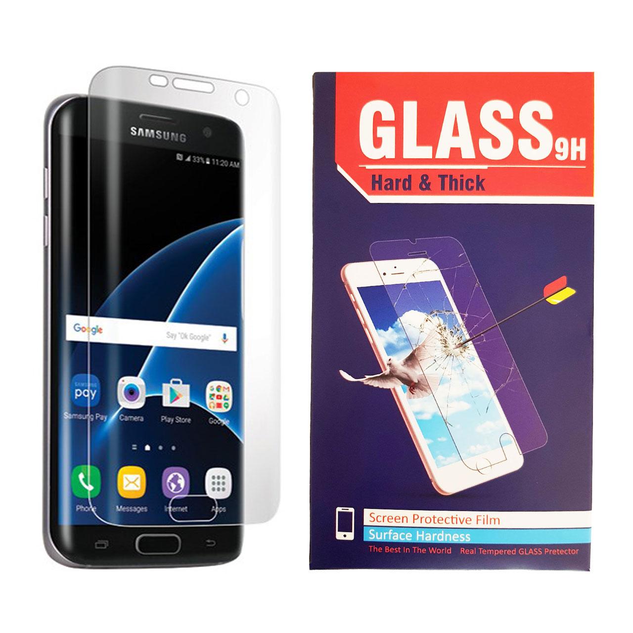 محافظ صفحه نمایش تی پی یو Hard and thick مدل TPU Full Cover مناسب برای گوشی موبایل سامسونگ GALAXY S7 Edge